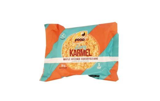 Good Food, Słony Karmel Wafle ryżowo-kukurydziane o smaku słonego karmelu, copyright Olga Kublik