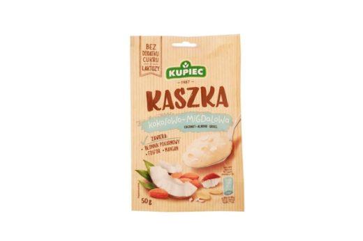 Kupiec, Kaszka kokosowo-migdałowa, deser bez cukru i laktozy, copyright Olga Kublik