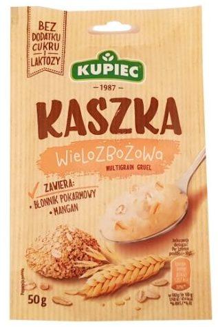 Kupiec, Kaszka wielozbożowa, deser bez cukru i laktozy, copyright Olga Kublik