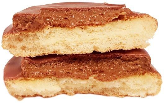 Milka, Choco Jaffa ciastka z czekoladowym musem, ciastka czekoladowe z musem i biszkoptem, jaffa cakes, copyright Olga Kublik