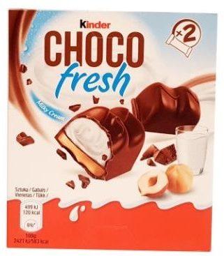 Ferrero, Kinder Choco Fresh Milky Cream, czekoladki z mlecznym kremem, copyright Olga Kublik