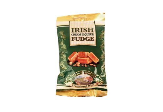 Kate Kearneys Traditional Irish, Irish Cream Liqueur Fudge, toffi krówki z Irlandii, copyright Olga Kublik