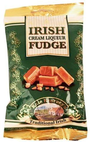 Kate Kearneys Traditional Irish, Irish Cream Liqueur Fudge, toffi krówki z Irlandii, copyright Olga Kublik