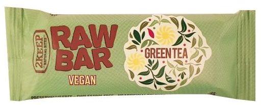 2Keep Natural Bites, Raw Bar Vegan Green Tea, zdrowy surowy baton wegański zielona herbata, copyright Olga Kublik