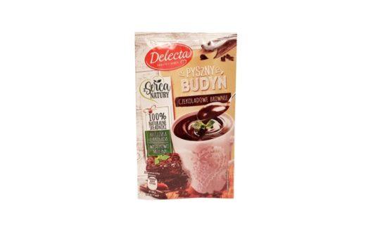 Delecta, Pyszny Budyń czekoladowe brownie, copyright Olga Kublik