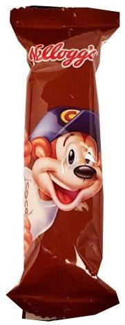 Kelloggs, baton zbożowy Coco Pops, czekoladowy baton śniadaniowy z płatków do mleka, copyright Olga Kublik