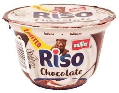 Muller, Riso Chocolate kokos, ryż na mleku Riso czekoladowe kokos, copyright Olga Kublik