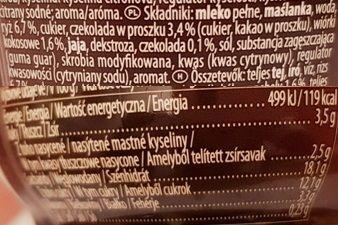 Muller, Riso Chocolate kokos, ryż na mleku Riso czekoladowe kokos, skład i wartości odżywcze, copyright Olga Kublik