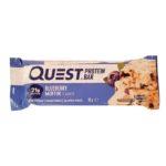 Quest Nutrition, Quest Bar Blueberry Muffin, baton proteinowy o smaku babeczki jagodowej, copyright Olga Kublik