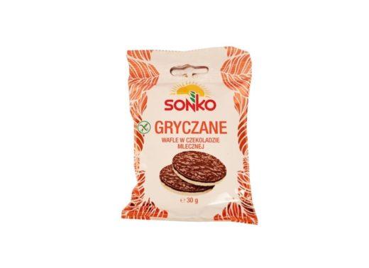 Sonko, Gryczane wafle w czekoladzie mlecznej, copyright Olga Kublik