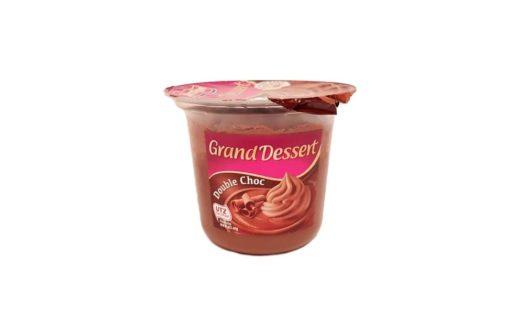 Ehrmann, Grand Dessert Double Choc, czekoladowy pudding z bitą śmietaną czekoladową, copyright Olga Kublik