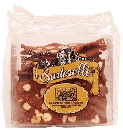 I Sartorelli, Biscotti al Cacao e Nocciole, włoskie ciastka kakaowe z orzechami laskowymi, copyright Olga Kublik