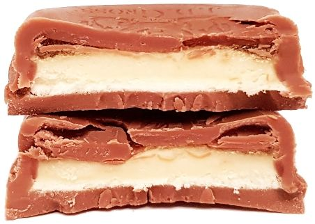 J.D. Gross, Mousse au lait Banana Summer Edition, mleczna czekolada z Lidla z kremem mlecznym i musem bananowym, copyright Olga Kublik