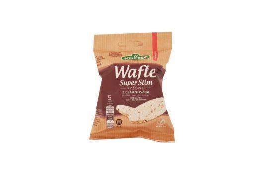 Kupiec, Wafle ryżowe bez glutenu Super Slim z czarnuszką, copyright Olga Kublik