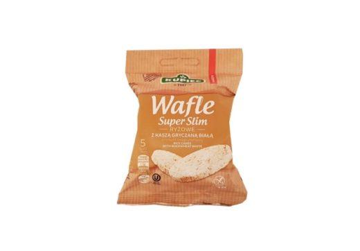 Kupiec, Wafle ryżowe bez glutenu Super Slim z kaszą gryczaną białą, copyright Olga Kublik