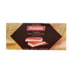 La Confiteria Delaviuda, Turron Tres Chocolates, hiszpański nugat migdałowy z białą czekoladą i mleczną czekoladą, copyright Olga Kublik