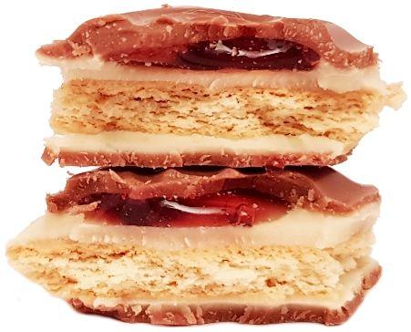 Milka, Mmmax Strawberry Cheesecake, czekolada mleczna truskawkowy sernik, copyright Olga Kublik