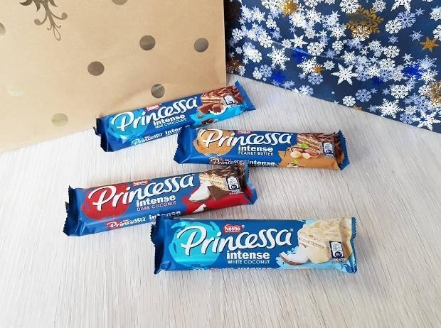 Świąteczne słodycze z linii Princessa (Nestle)