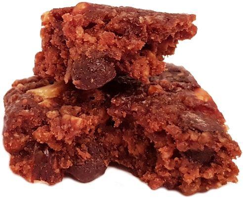 Clif Bar, baton owsiany Energy Bar Chocolate Almond Fudge 2020, copyright Olga Kublik