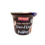 Ehrmann, High Protein Pudding Choco Coco, zdrowy deser proteinowy czekoladowo-kokosowy, copyright Olga Kublik