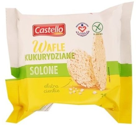 Good Food, Castello Wafle kukurydziane solone ekstra cienkie, copyright Olga Kublik