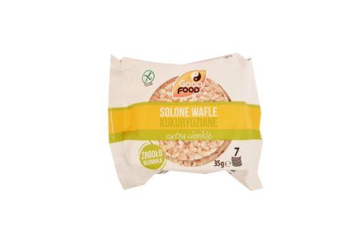 Good Food, Solone wafle kukurydziane extra cienkie, copyright Olga Kublik