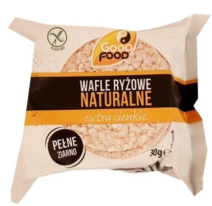 Good Food, Wafle ryżowe naturalne extra cienkie, copyright Olga Kublik