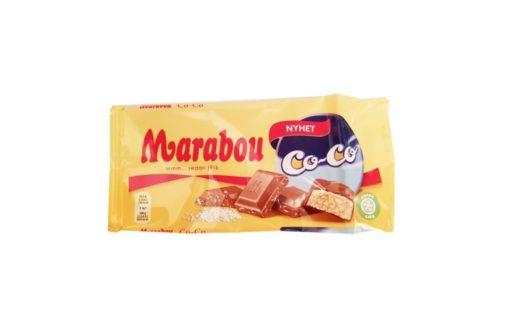 Marabou, Co-Co mleczna czekolada kokosowa, copyright Olga Kublik