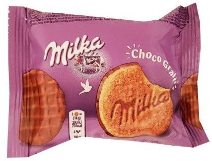 Milka, Choco Grain ciastka z czekoladą i płatkami owsianymi, copyright Olga Kublik