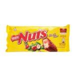 Nestle, Nuts Snack Size, baton czekoladowy z nugatem, karmelem i orzechami laskowymi, copyright Olga Kublik