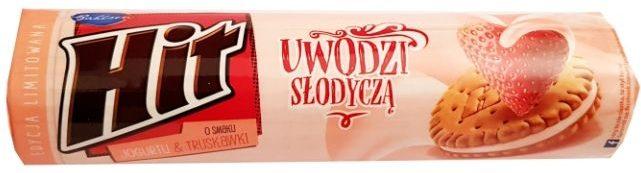 Bahlsen, Hit ciastka o smaku jogurtu i truskawki, copyright Olga Kublik