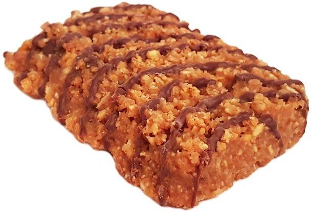 Clif Bar, Energy Bar Coconut Chocolate Chip, wegański baton owsiany czekoladowo-kokosowy, copyright Olga Kublik