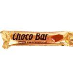Flying Tiger, Choco Bar French Nougat King Size, baton czekoladowy z nugatem, karmelem i orzechami arachidowymi, copyright Olga Kublik