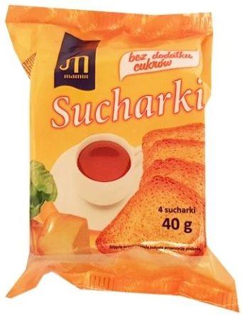 Mamut, Sucharki bez dodatku cukrów, copyright Olga Kublik