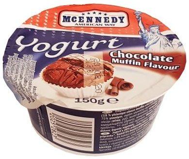McEnnedy, jogurt Chocolate Muffin Flavour Lidl Tydzień Amerykański, copyright Olga Kublik