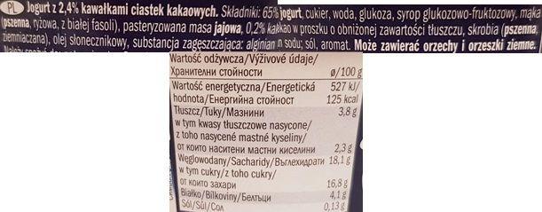 McEnnedy, jogurt Cookie Lidl Tydzień Amerykański, skład i wartości odżywcze, copyright Olga Kublik