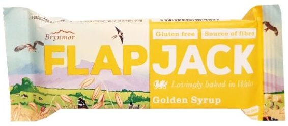 Brynmor, Flapjack Golden Syrup, wegański baton owsiany, copyright Olga Kublik