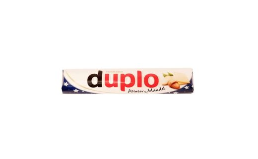 Ferrero, batonik Duplo Winter-Mandel, copyright Olga Kublik