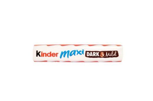 Ferrero, Kinder Maxi Dark Mild, Kinderki baton w ciemnej czekoladzie, copyright Olga Kublik