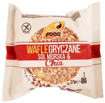 Good Food, Wafle gryczane Sól morska Chia nowa wersja, copyright Olga Kublik