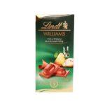 Lindt, Williams mleczna czekolada z brandy gruszkową, copyright Olga Kublik