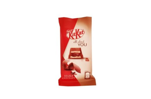 Nestle, baton Kit Kat Double Chocolate all about YOU, copyright Olga Kublik