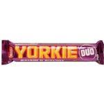 Nestle, Yorkie Duo Raisin Biscuit, baton czekoladowy z rodzynkami i ciasteczkami, copyright Olga Kublik