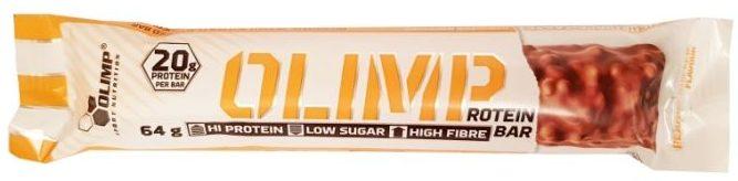 Olimp Sport Nutrition, Olimp Protein Bar Peanut Butter Flavour, baton proteinowy o smaku masła orzechowego, copyright Olga Kublik