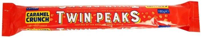 Poundland, Twin Peaks Chocolate Caramel Crunch, Toblerone, copyright Olga Kublik