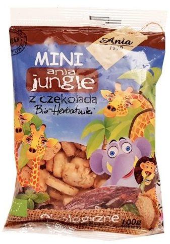 Ania, MINI ania jungle Bio-herbatniki z czekolada, ekologiczne ciastka dla dzieci, copyright Olga Kublik