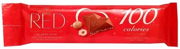 Chocolette, RED 100 calories baton czekoladowy bez cukru, copyright Olga Kublik