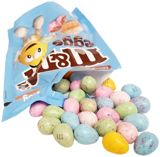 MARS, Chocolate MMs eggs, cukierki jajeczka wielkanocne, copyright Olga Kublik