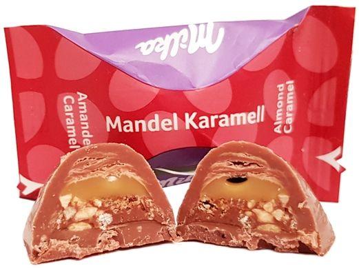 Milka Moments Mix: Czekoladka Milka Almond Caramel (Mandel Karamell), copyright Olga Kublik