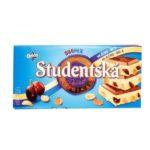 Nestle, Orion Studentska Duo Mix czekolada mleczno-biała z galaretkami, rodzynkami i orzechami, copyright Olga Kublik